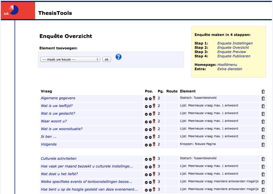 thesistools surveymonkey Voorbeelden van eenvoudige, gratis tools: surveymonkey enquetecom  thesistools google forms survio onderzoekdoennl.